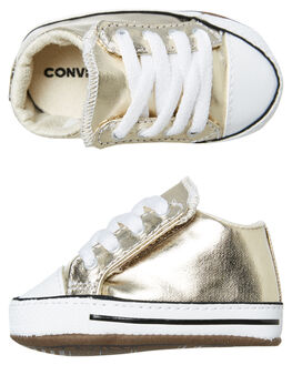 LIGHT GOLD KIDS BABY CONVERSE FOOTWEAR - 866037CLGLD