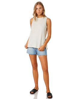 BIRCH WHITE WOMENS CLOTHING PATAGONIA SINGLETS - 52880LPBW