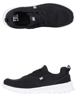BLACK/GREY/WHITE MENS FOOTWEAR DC SHOES SNEAKERS - ADYS700140-XKSW
