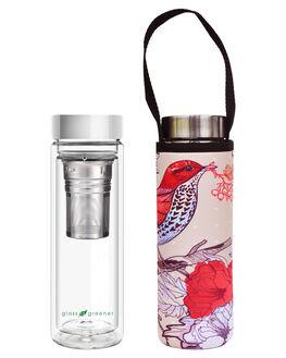BIRD WOMENS ACCESSORIES GLASS IS GREENER DRINKWARE - GD-BRDBRD