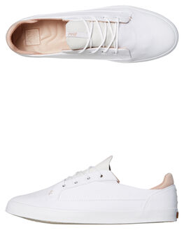 WHITE WOMENS FOOTWEAR REEF SNEAKERS - A3FEAWHI