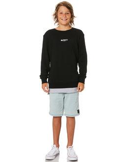 BLACK KIDS BOYS ST GOLIATH JUMPERS + JACKETS - 2420017BLK