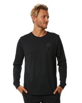 BLACK MENS CLOTHING NIKE TEES - 892819010