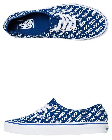 TRUE BLUE MENS FOOTWEAR VANS SNEAKERS - SSVN0A2Z5IWH8TBLUM