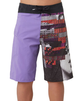 PURPLE HAZE KIDS BOYS VOLCOM BOARDSHORTS - C0831805PUH