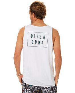 WHITE MENS CLOTHING BILLABONG SINGLETS - 9582508WHT