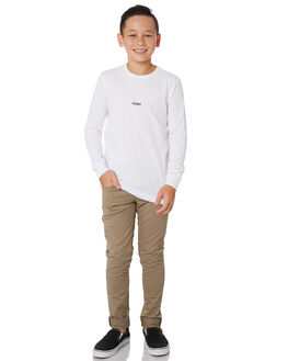 WHITE KIDS BOYS GLOBE TOPS - GB41930002WHT
