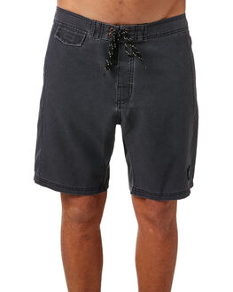 BLACK MENS CLOTHING RUSTY BOARDSHORTS - BSM1238BLK