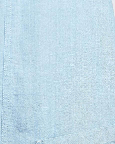 CHAMBRAY WOMENS CLOTHING BILLABONG PLAYSUITS + OVERALLS - BB-6503537-CBY