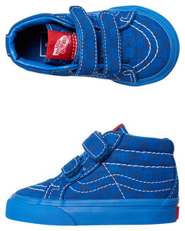 BLUE BLUE KIDS TODDLER BOYS VANS FOOTWEAR - VNA348JQ83BLU