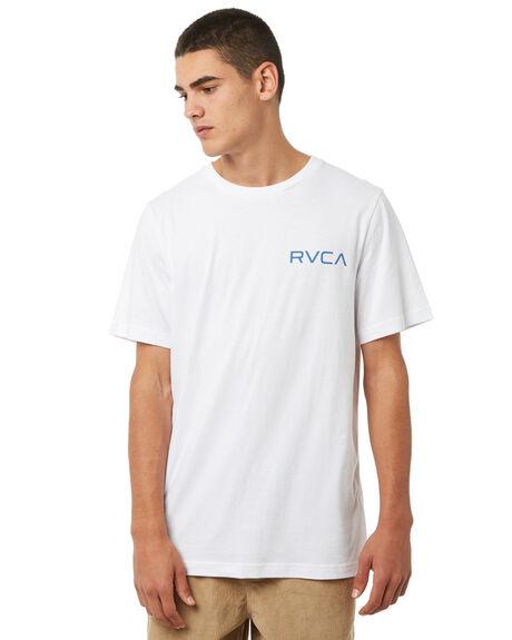 WHITE MENS CLOTHING RVCA TEES - R172060WHT