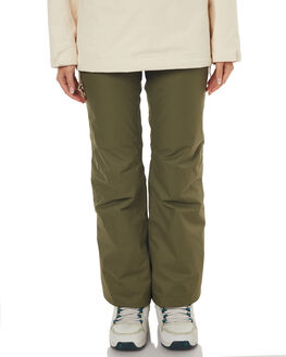 OLIVE SNOW OUTERWEAR THE NORTH FACE PANTS - NF0A33397D6ROLV