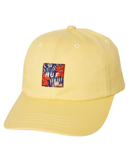 YELLOW MENS ACCESSORIES HUF HEADWEAR - HT00370-YELLW