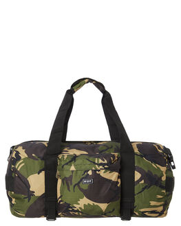 DEEP OLIVE MENS ACCESSORIES HUF BAGS + BACKPACKS - AC00187DPOL