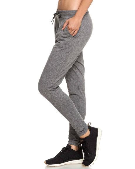 CHARCOAL HEATHER WOMENS CLOTHING ROXY PANTS - ERJNP03217-KTAH