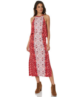 TANGO RED WOMENS CLOTHING TIGERLILY DRESSES - T371417TANG