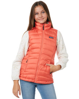 SPICED CORAL KIDS GIRLS PATAGONIA JUMPERS + JACKETS - 68227SPCL