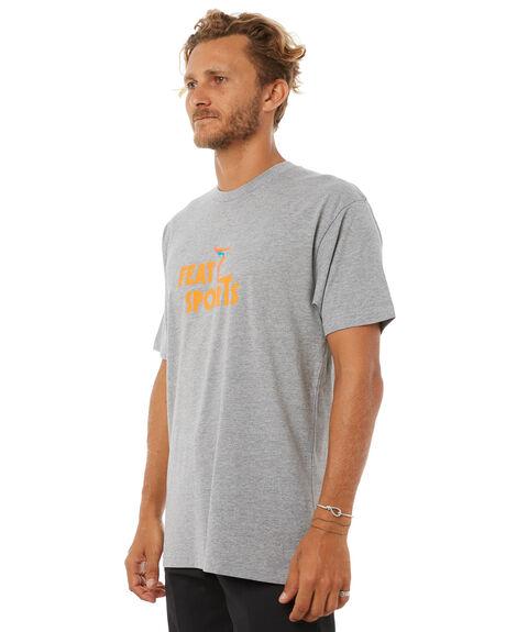 GREY MARLE MENS CLOTHING FEAT TEES - FTTSPOR01GRYM