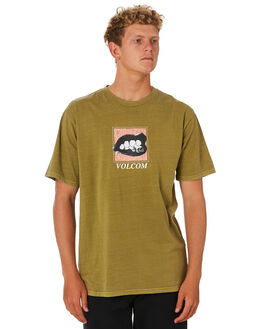 SONIC GREEN MENS CLOTHING VOLCOM TEES - A4341902SNC