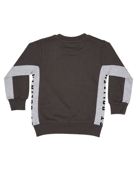 CHARCOAL KIDS BOYS ST GOLIATH JUMPERS + JACKETS - 2851021CHAR