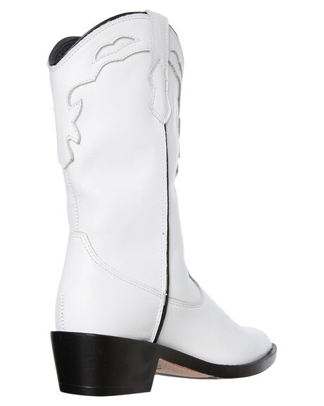 WHITE VINTAGE WOMENS FOOTWEAR ROC BOOTS BOOTS - INDIOWHT