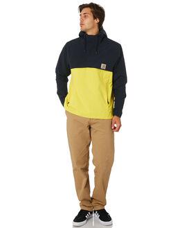 DARK NAVY PRIMULA MENS CLOTHING CARHARTT JACKETS - I0263161C
