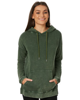 WASHED OLIVE WOMENS CLOTHING SWELL JUMPERS - S8183549WSHOL
