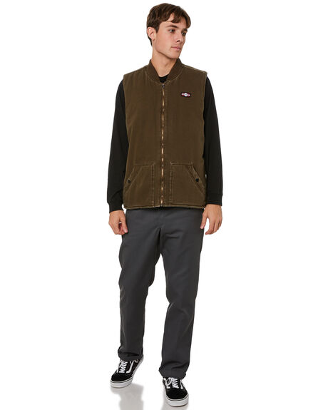 MOCCA MENS CLOTHING INDEPENDENT JACKETS - IN-MJA1403MOCCA