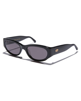 BLACK ACETATE MENS ACCESSORIES CRAP SUNGLASSES - FUNKP001GGBLKA