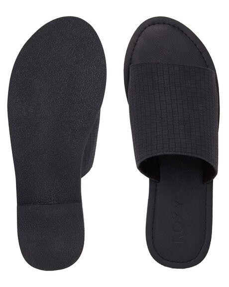BLACK WOMENS FOOTWEAR ROXY FASHION SANDALS - ARJL200654-BL0