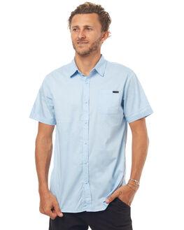 SAIL BLUE MENS CLOTHING RUSTY SHIRTS - WSM0800SAU