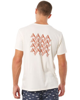 NATURAL MENS CLOTHING MOLLUSK TEES - MS1538NAT