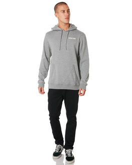 GREY MARLE WHITE MENS CLOTHING VOLCOM JUMPERS - A41118XXGRYML
