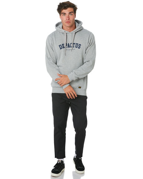 GREY MARLE MENS CLOTHING DEPACTUS JUMPERS - D5193445GRYMA
