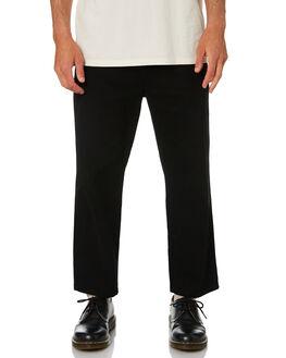 WASHED BLACK MENS CLOTHING MISFIT PANTS - MT081611WBLK