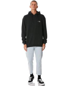 BLACK MENS CLOTHING STUSSY JUMPERS - ST085200BLK