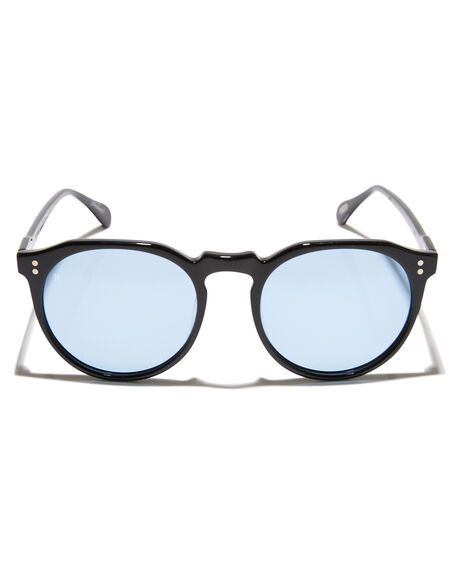 BLACK BLUE MENS ACCESSORIES RAEN SUNGLASSES - 100U161REM-S457BLKBL
