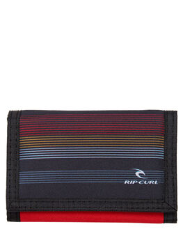 RED MENS ACCESSORIES RIP CURL WALLETS - BWUJA3RED