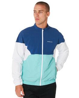 DARK BLUE MENS CLOTHING OAKLEY JACKETS - 412664609