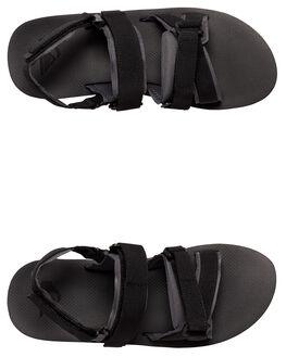 BLACK/GREY/BROWN MENS FOOTWEAR QUIKSILVER THONGS - AQYL100749-XKSC