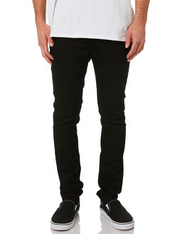 NEW BLACK MENS CLOTHING CHEAP MONDAY JEANS - 0101885NBLK