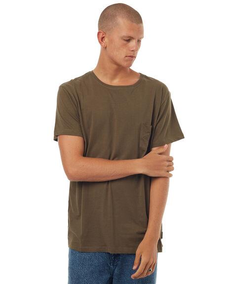 OLIVE MENS CLOTHING MCTAVISH TEES - MW-17T-04OLI