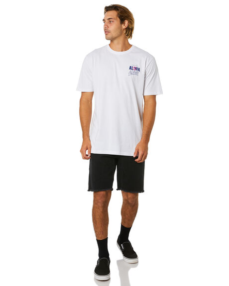 WHITE MENS CLOTHING TOWN AND COUNTRY TEES - TTE614AWHT
