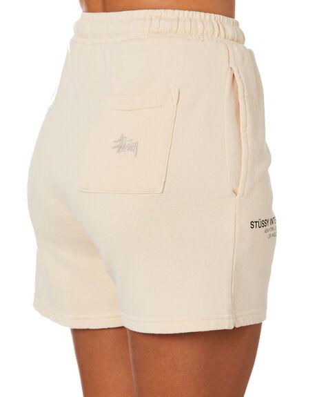 WHITE SAND WOMENS CLOTHING STUSSY SHORTS - ST1M0168WTSND