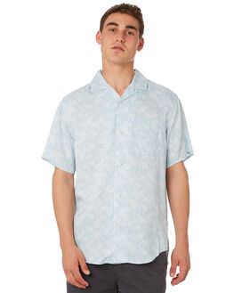 BLUE FOG CLOUDBREAK MENS CLOTHING OUTERKNOWN SHIRTS - 131096BFC