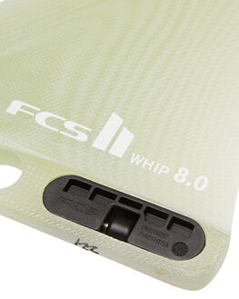 CLEAR BOARDSPORTS SURF FCS FINS - FWHI-PG02-LB-80-RCLR