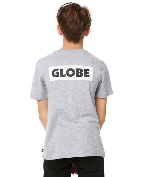 GREY MARLE KIDS BOYS GLOBE TEES - GB41730001GRYM