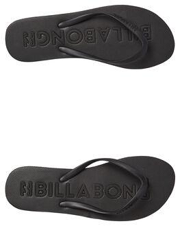 BLACK WOMENS FOOTWEAR BILLABONG THONGS - 6685805BLK