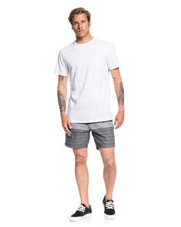 BLACK MENS CLOTHING QUIKSILVER SHORTS - EQYWS03627-KVJ3