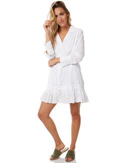 WHITE WOMENS CLOTHING RUE STIIC DRESSES - S118-14WHT